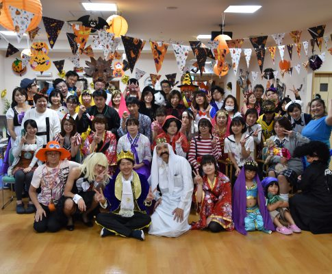 カラフルコロウィンパーティ―!!