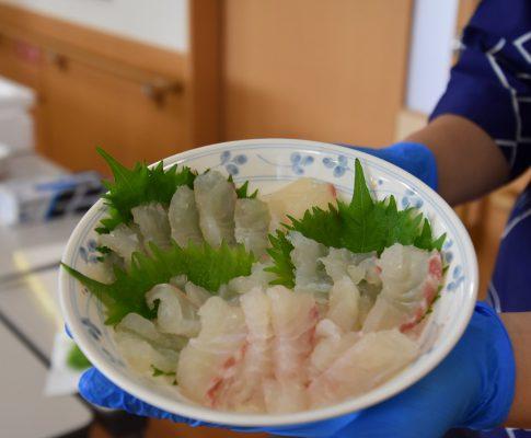 垣屋寿司 ~鯛の解体ショー・鯛料理~
